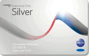 BA Silver card