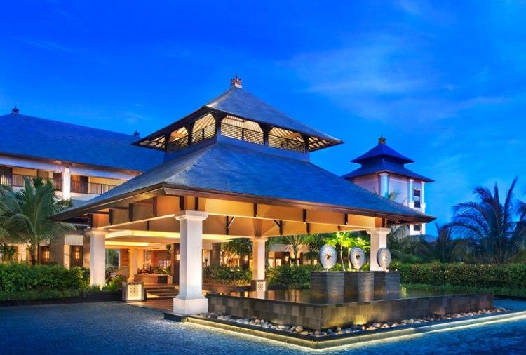 Entrance to St. Regis Bali Resort