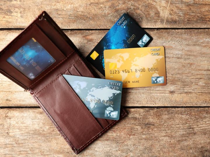 Credit cards on holiday
