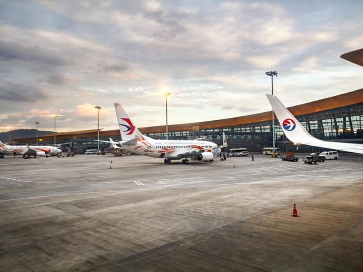 China Eastern planes on tarmac