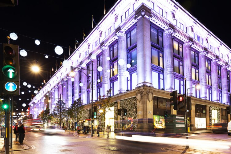 Selfridges flagship shop London