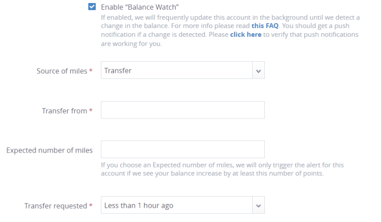 AW - Balance Watch questions