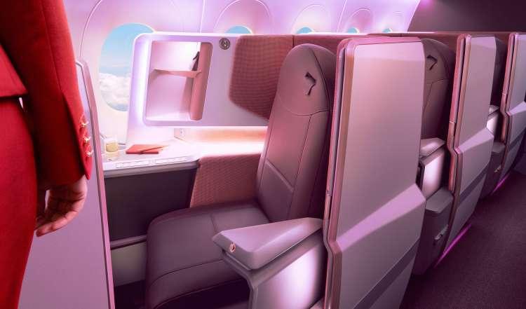 Virgin new Upper Class seat