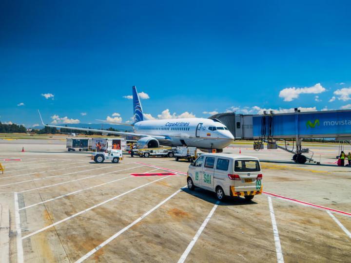 Copa Airlines at El Dorado Airport, Bogota