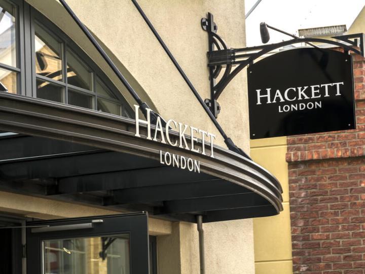 Hackett shop