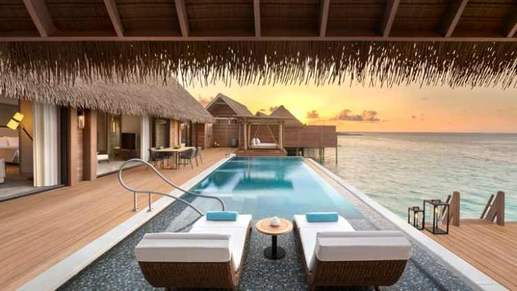 Waldorf Astoria Maldives Grand Reef Villa