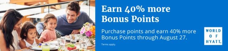 Hyatt buy points promo