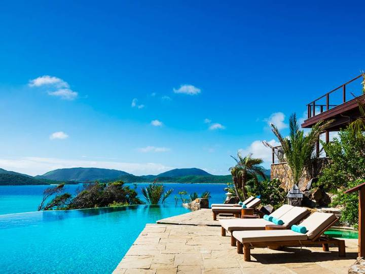 Necker Island The Great House Pool