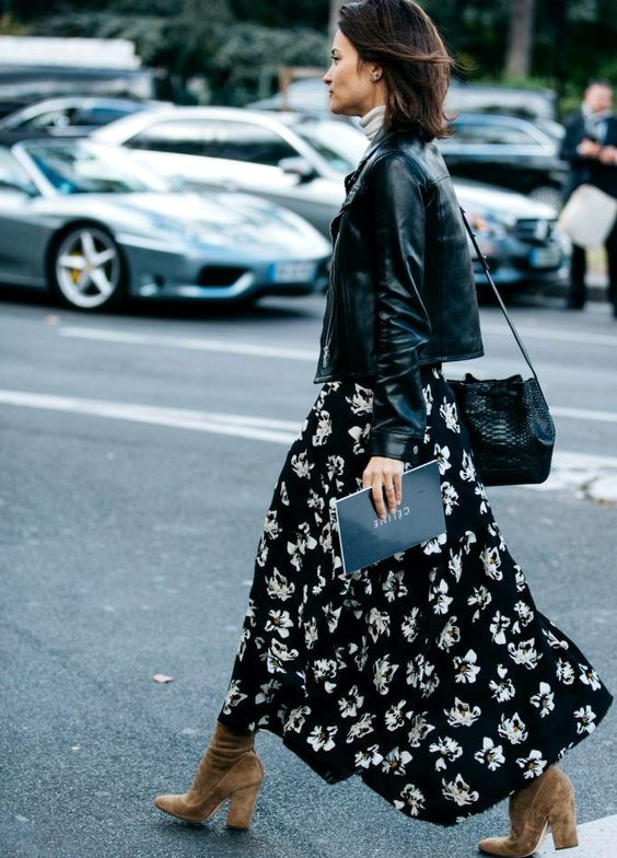 Maxi casual skirts