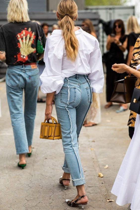Street style fashion 2020 jeans