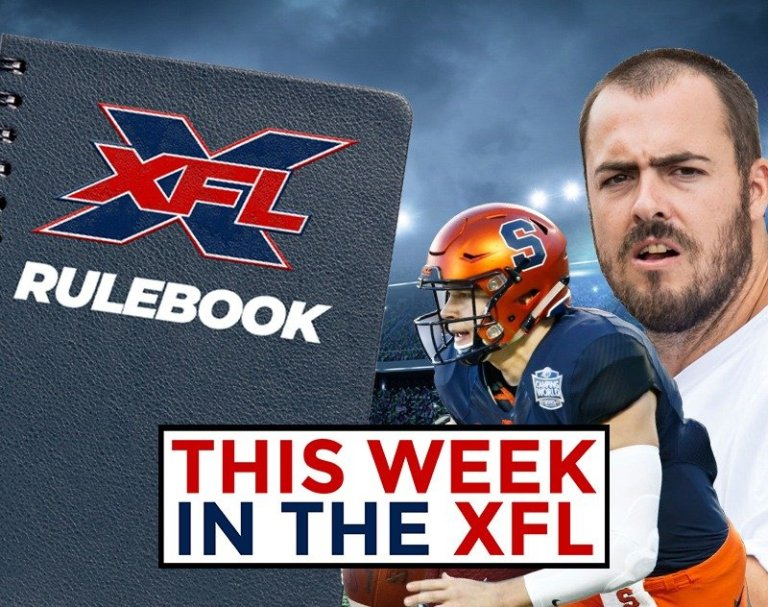 This Week in the XFL   Rules Explained, Landry Jones Injured and more...