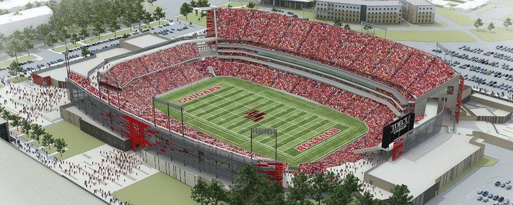 TDECU Stadium - Houston Roughnecks