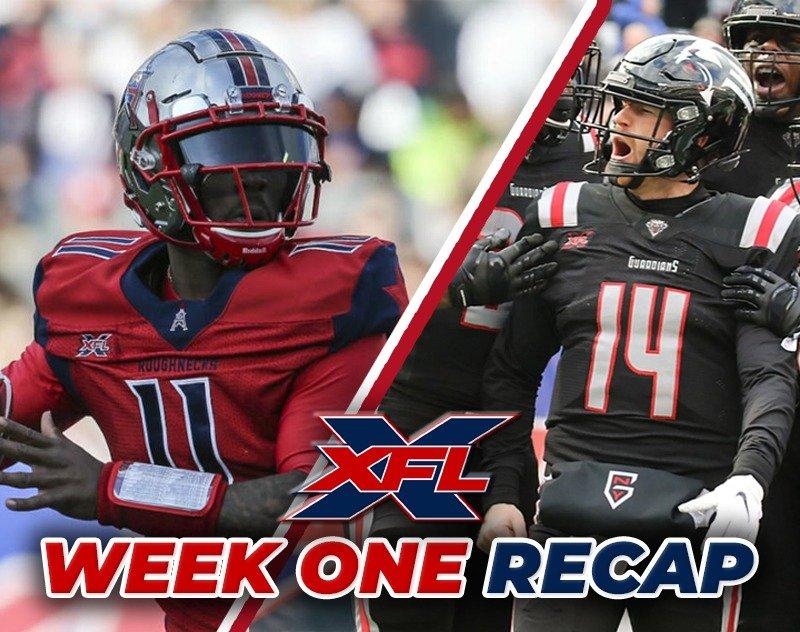 Week One Recap and XFL Standings