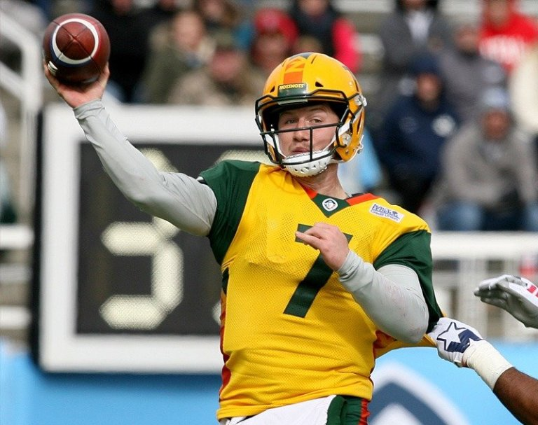 Former AAF QB John Wolford Likely To Start for LA Rams On Sunday