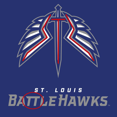 St. Louis BattleHawks Easter Eggs