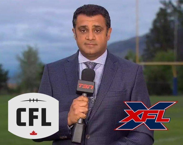 TSN's Farhan Lalji Would Bet Money on Gameplay Between XFL and CFL by 2023