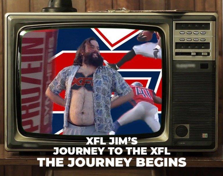 XFL Jim's Journey to the XFL: The Journey Begins   XFL Newsroom