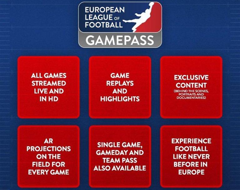 European League of Football Reveals Streaming Details