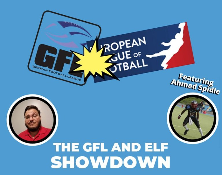 An Interview with Ahmad Spidle - The GFL and ELF Showdown | Gridiron Gallery