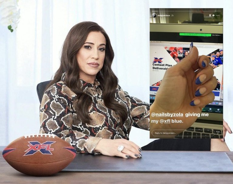 XFL Co-Owner Dany Garcia Continues to Tease Upcoming XFL News