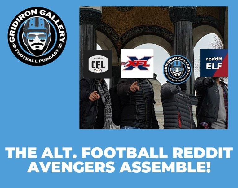 The Alt Football Reddit Avengers Assemble | Gridiron Gallery