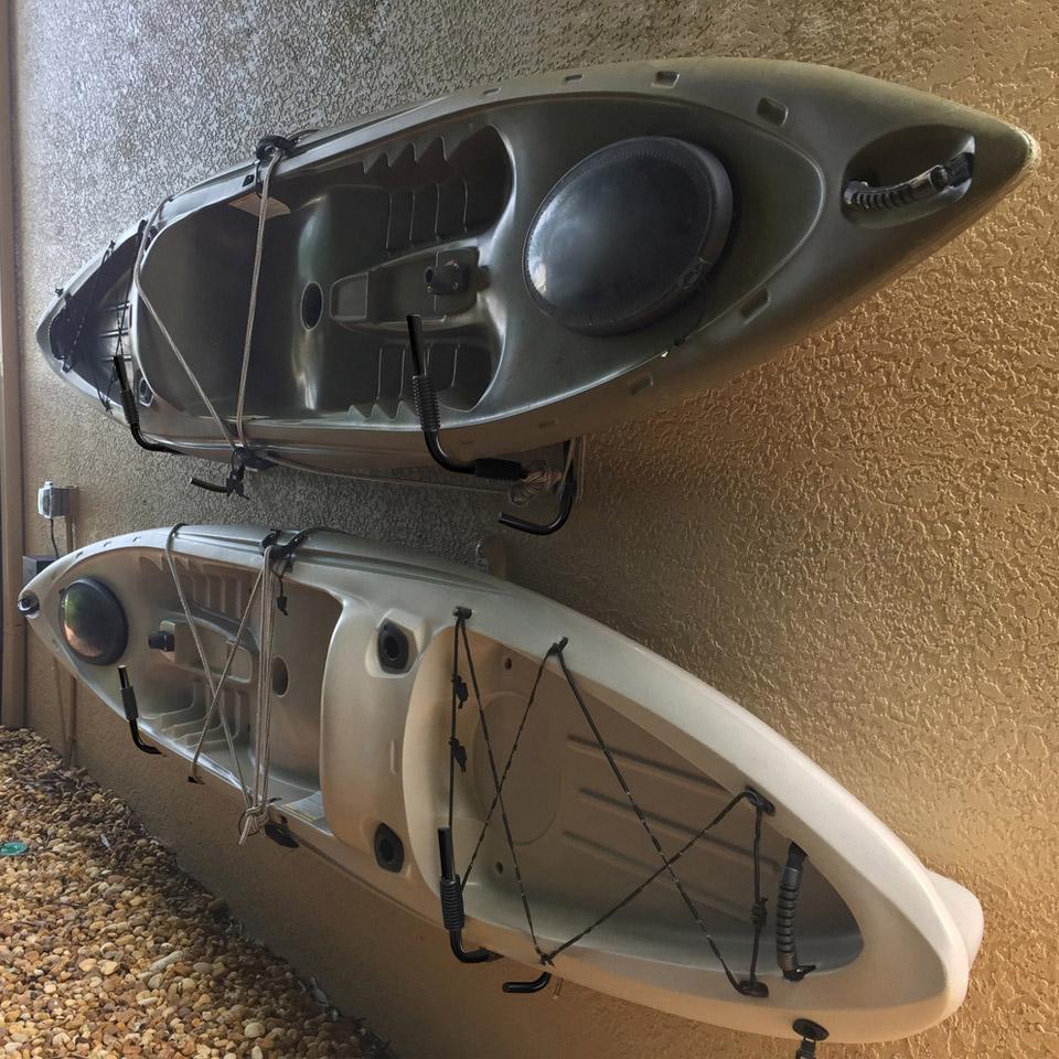 heavy duty steel canoe surfboard ladder