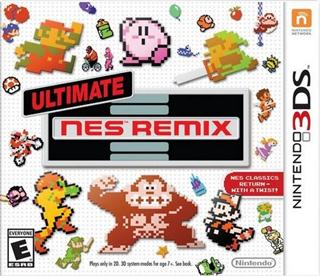 Portada-Descargar-Ultimate-NES-Remix-EUR-3DS-Multi6-Espanol-Gateway3ds-Mega-Emunad-XGAMERSX.COM