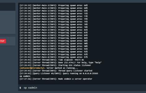 minecraft server ops.json