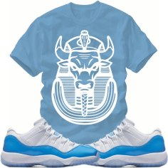 jordan-11-carolina-blue-sneaker-shirt