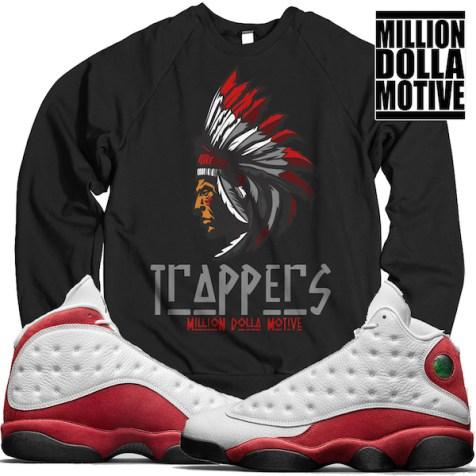 jordan-13-chicago-cherry-crewneck-sweater