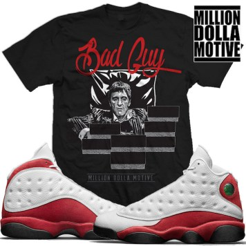 sneaker-shirts-jordan-13-chicago-cherry-match-tees-t-shirt
