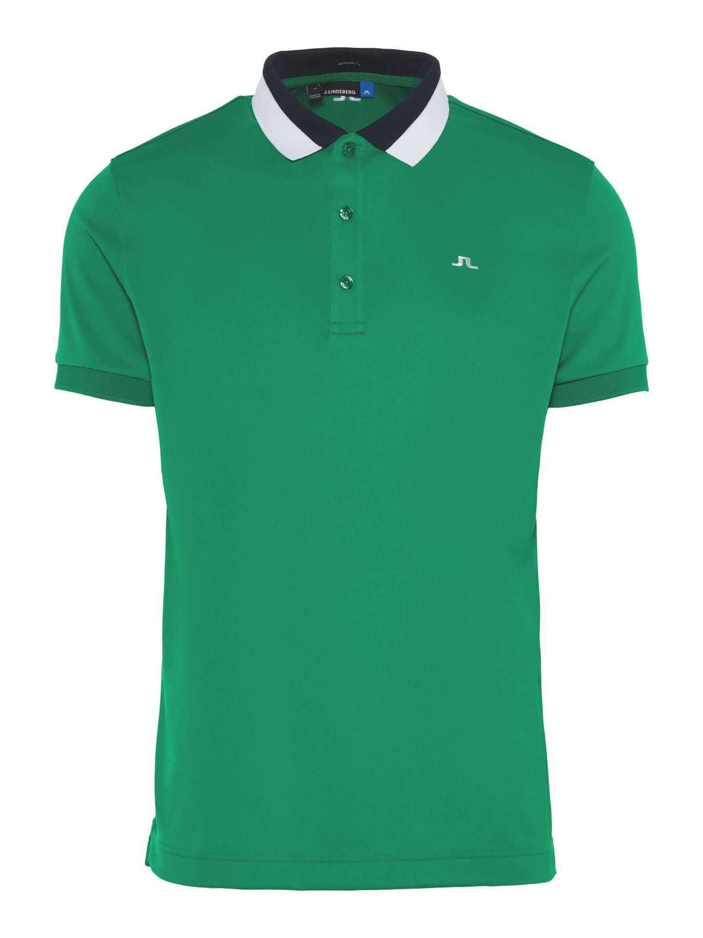 J.Lindeberg - MAT Regular TX Jersey in golf green