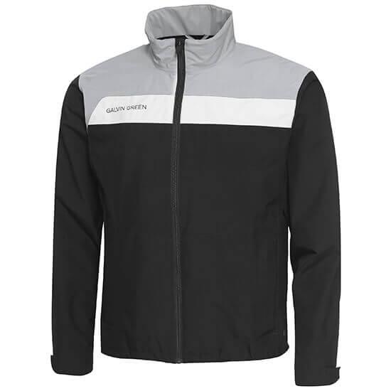 Galvin Green - Austin waterproof jacket in black, grey and white