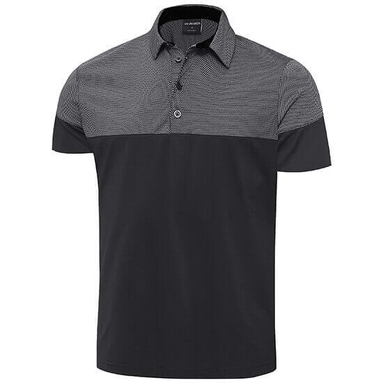 Galvin Green - Milton polo shirt in black