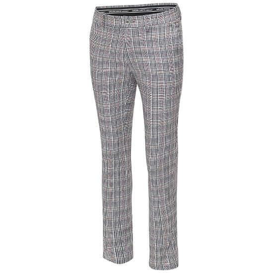 Galvin Green - Ned trouser in white and black tartan