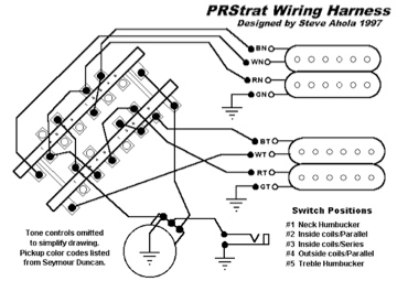 5 Way Super Switch Wiring Diagram - Wiring Diagram