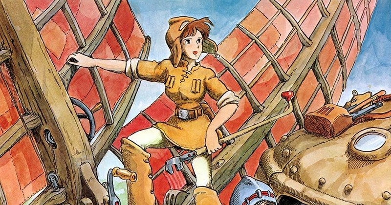 Ghibli Studio - Nausicaa