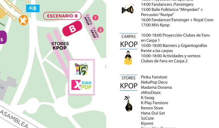 [Evento Argentina] Xiahpop en Día de Corea 2015  Escenario K-pop 