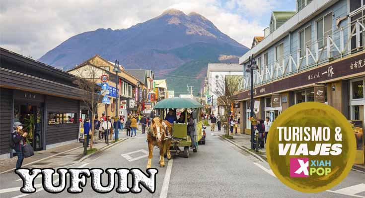 Yufuin: el resort de aguas termales de Oita