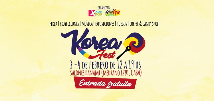 Korea Fest, 3 y 4 de febrero del 2018 ¡Entrada gratuita!