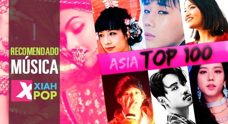 ASIA TOP100: Las canciones más escuchadas en 2018
