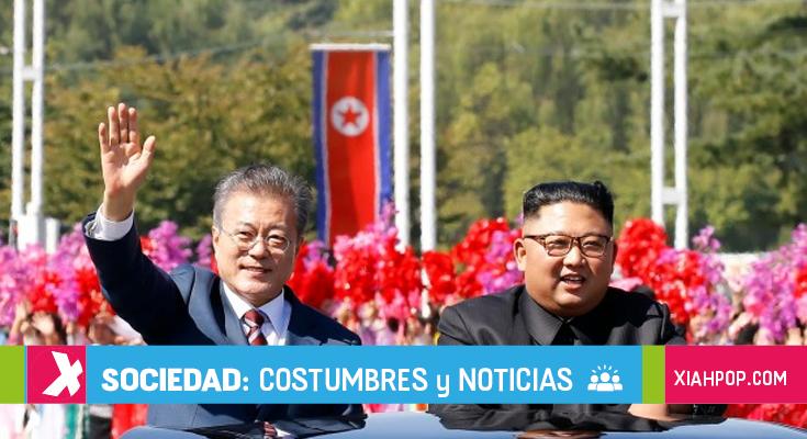 El presidente Sur coreano llega a Corea del Norte