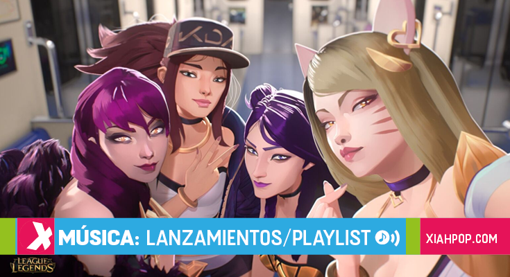 "[Gamer x Kpop] K/DA la banda pop de League of Legends encabeza listas de música con ""POP/STARS"""