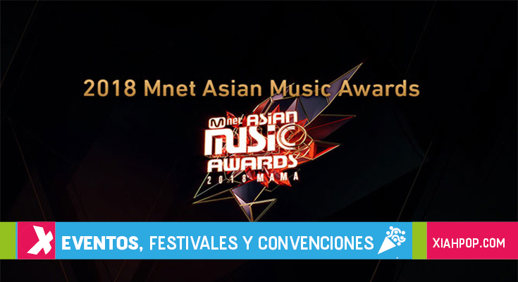 [Kpop] Ganadores de los MAMA Corea del Sur y Japón 2018