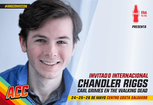 comic con chandler riggs