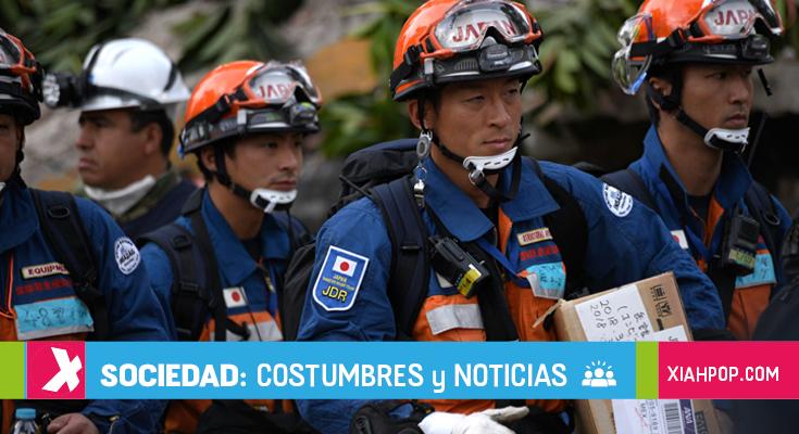 México homenajeará a rescatistas japoneses