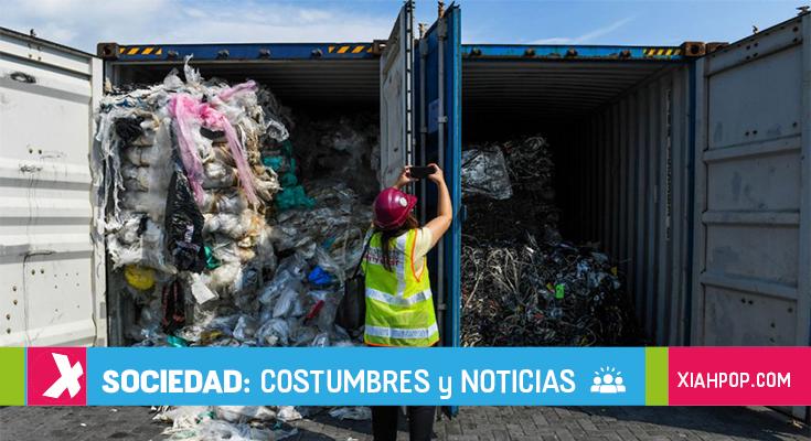 Malasia devolverá 3.000 toneladas de residuos a sus países de origen