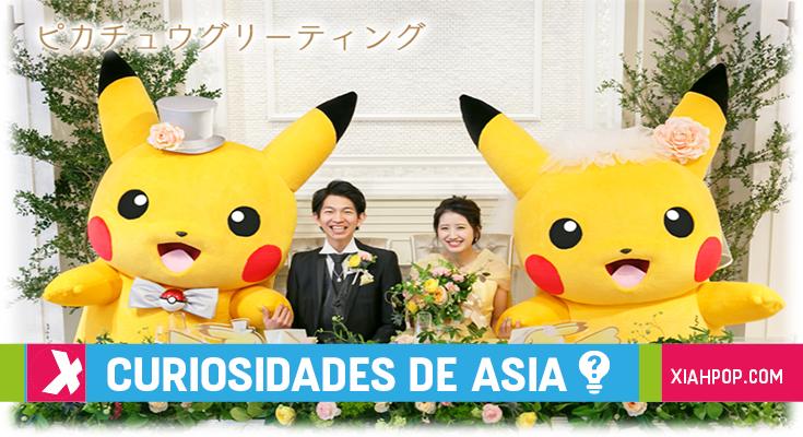 En Japón ya puedes casarte con estilo Pokémon