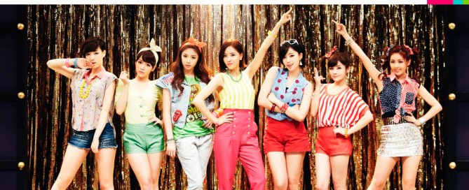 kpop con estética retro