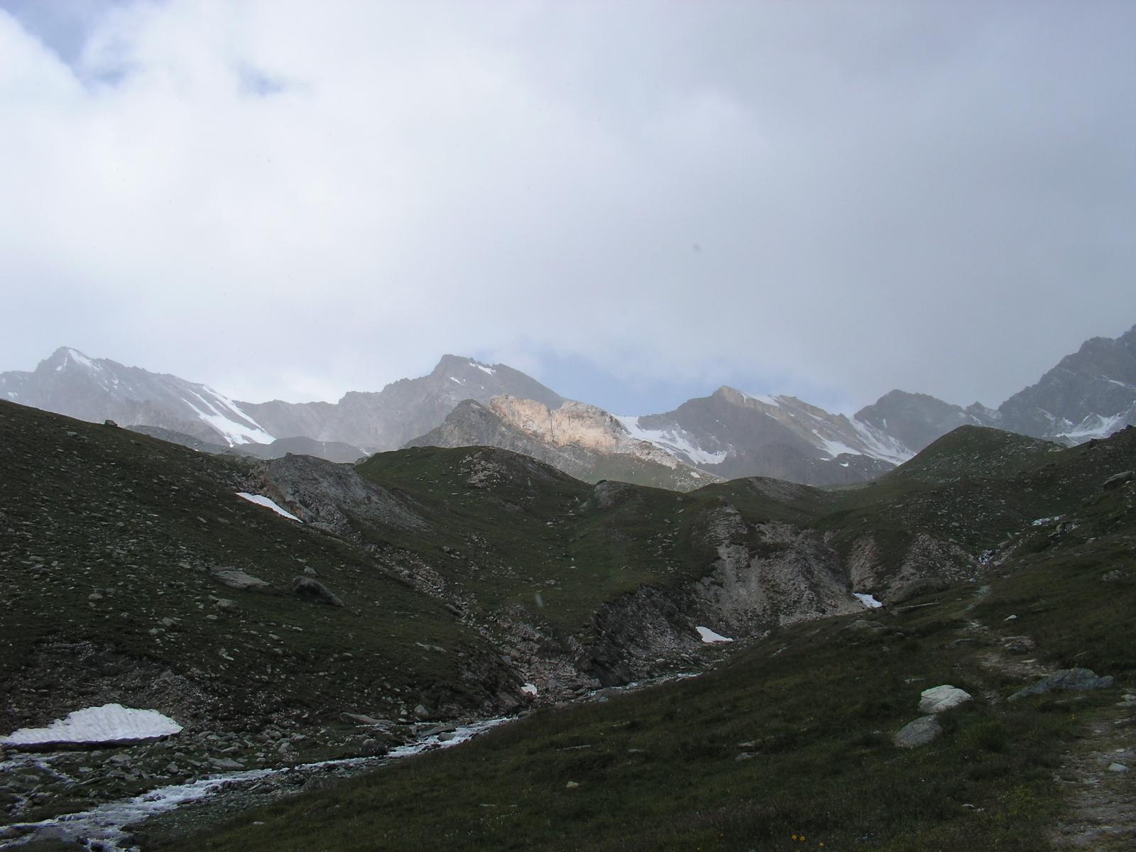 From Refugio Vittorio Sella